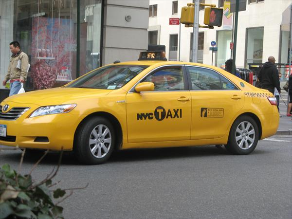 New York City Taxi Type 7 Toyota Camry